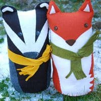 The Button Company - Badger and Fox Craft Kit